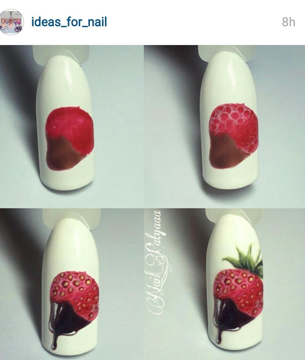 Как рисовать на ногтях гель-красками: пошагово для начинающих 43