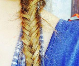 braid blond hair girl