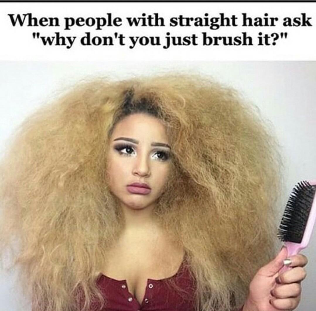 Straight hair problems tumblr