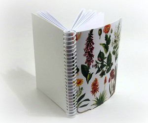 paper notebook plants
