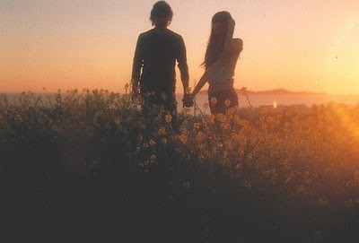 Teenage Love Picture on Couple Love Cute Couple Field Sunset Teen Love