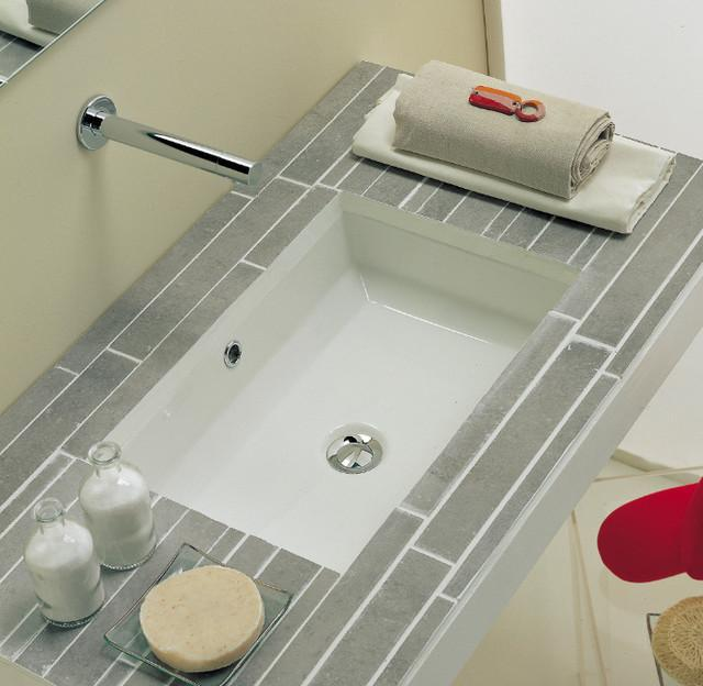 Contemporary Bathroom Sinks With Calm Gray Color Tile Top Bathroom Vanity And White Sink Square Undermount Bathroom Sinks Bathroom Mirror Ideas For A Small. Contemporary Bathroom Sinks With Calm Gray Color Tile Top Bathroom