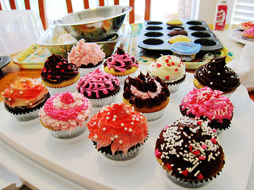 colorful, cupcakes, cute, delicious, pink - inspiring picture on Favim.com