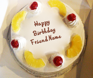 write name on cakes