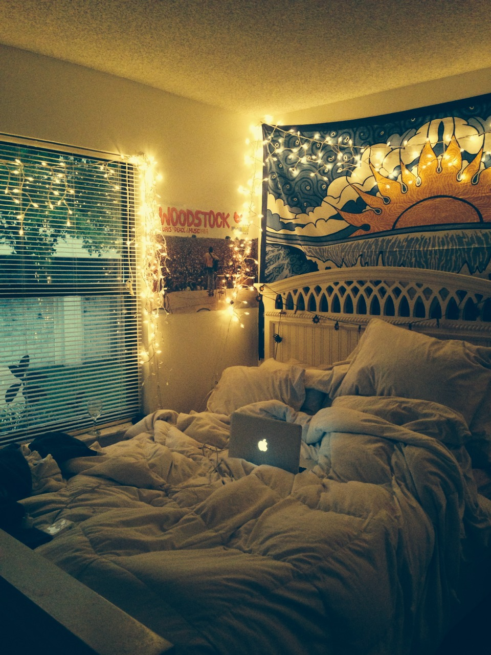Outdoor bed tumblr - 43 Images About Tumblr Room On We Heart It See More About Bedroom Room And Bed
