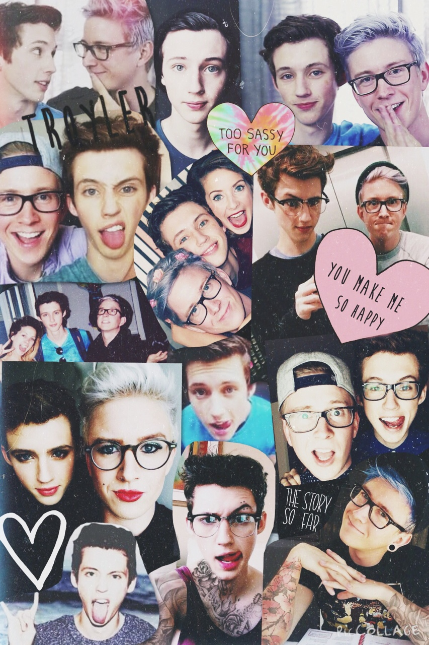 Youtuber iphone wallpaper tumblr - 108 Images About Troyler On We Heart It See More About Troye Sivan Tyler Oakley And Troyler