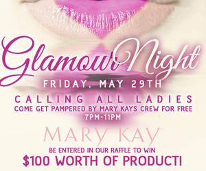 mary kay glamour night