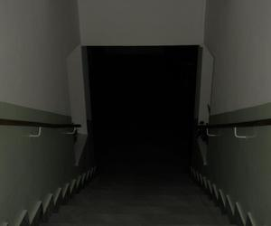 stairs to darkness