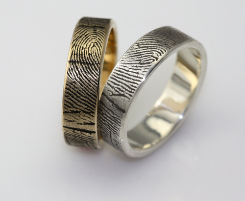 Fabulous Wedding Bands with Fingerprint General Valentine