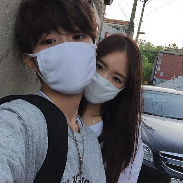 girl boy and korean image on we heart it