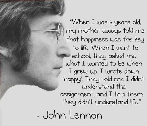Happy - John Lennon picture on VisualizeUs