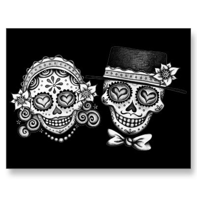 http://www.zazzle.com/sugar_skull_couple_postcard-239462068617725351