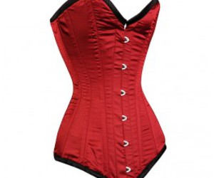 mmmm red corcorset