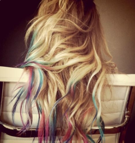 DIY: How To Dip Dye Your Hair on Martina Satoriova's Blog - Buzznet