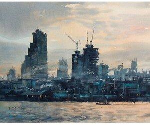 skyline. bangkok.