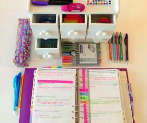 Schreibtisch organisation lernen by styleyourlive on whi for Schreibtisch organisation
