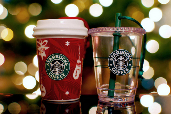 The 12 Days of Christmas Starbucks Gift Ideas (2011)