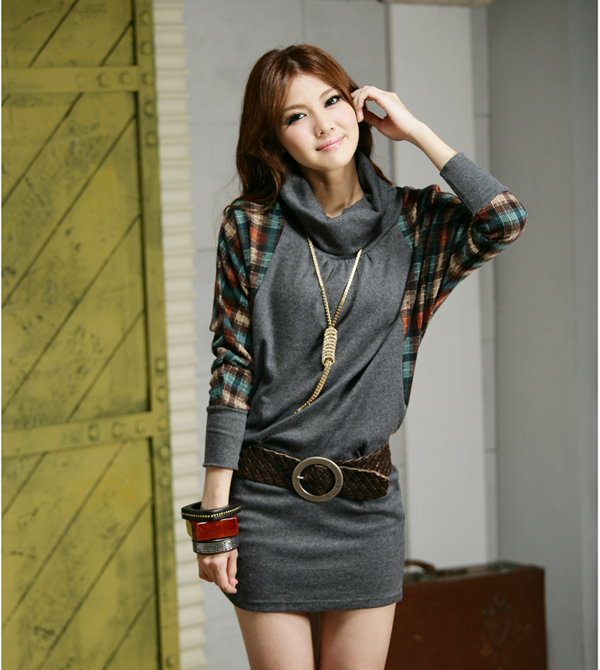 Group of: wholesale big size clothing LY women winter dress