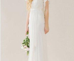 airy boho wedding dress