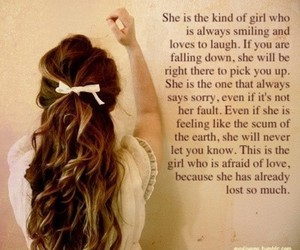 girl love quote