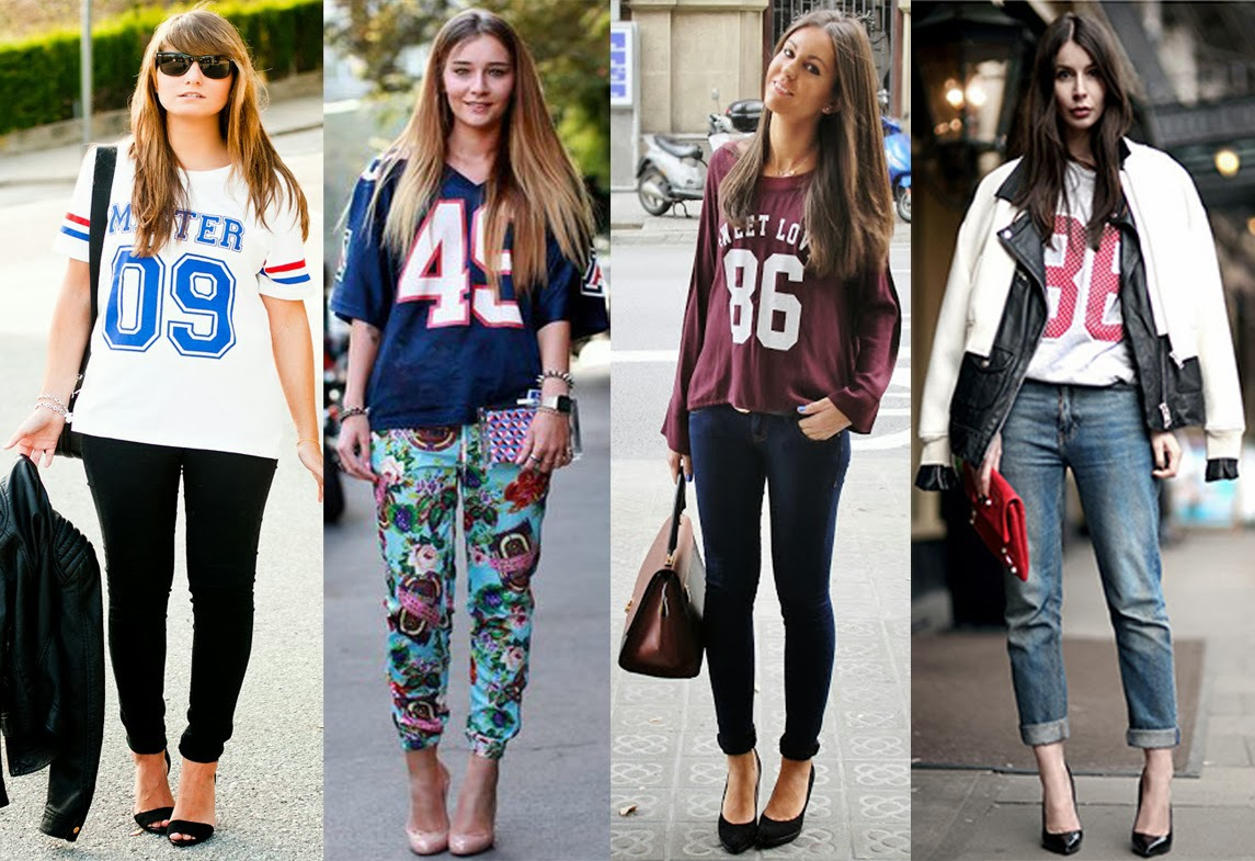 Football jersey outfits for girls - Google Search by Dawn Grey | WHI