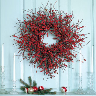 Holiday Wreaths - Easy Holiday Wreath Ideas - Good Housekeeping
