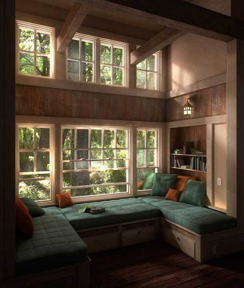 36 Cozy Window Seats and Bay Windows With a View | Freshome