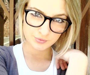 blonde glasses vintage