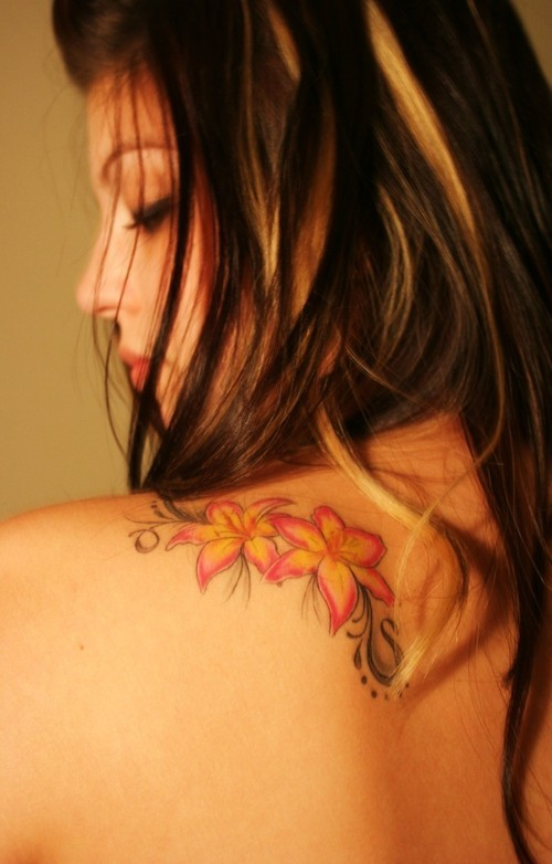 cool flower tattoo designs