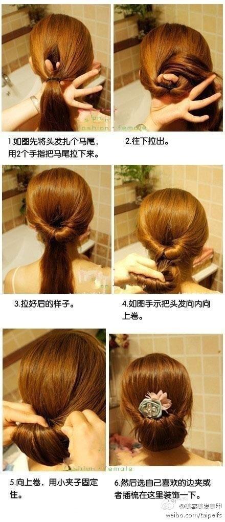 Прически на средние волосы сама себе