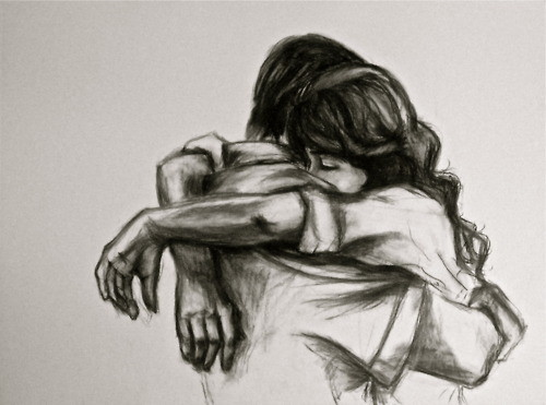 Hugging Couple Drawing Love Pictures Animated...