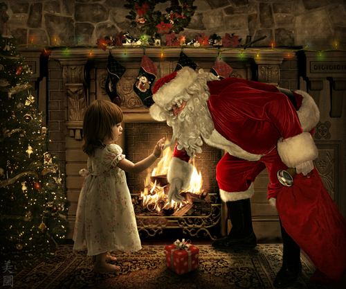 Santa_claus_with_little_girl_by_pure_lily-d34j3c0_large