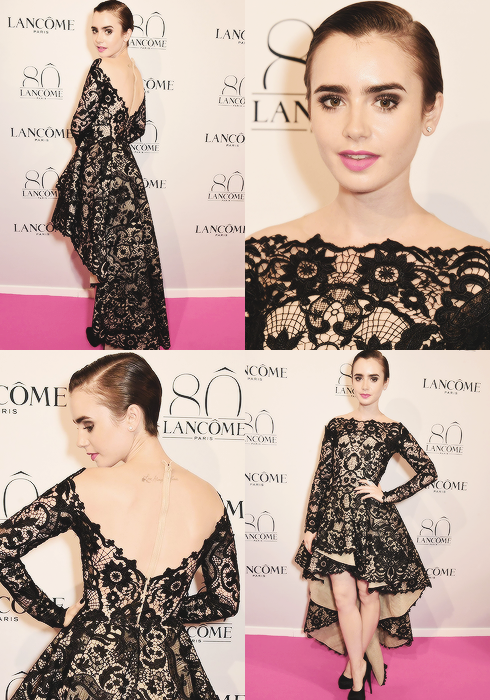 Lily Collins | via Fac...