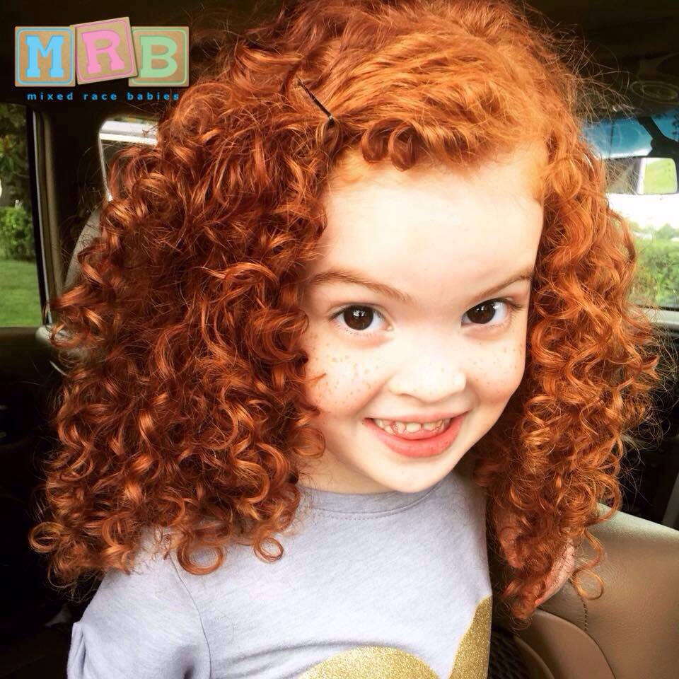 The Gallery For Gt Black Kids With Natural Red Hair