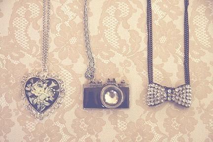 Miela. Nuostabu. Tiesiog viskas, kas man gražu... ;p* Camera-jewelery-necklace-old-photography-Favim.com-224686_large