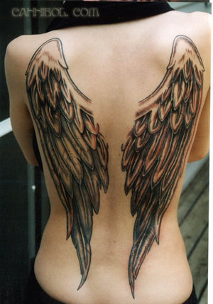 Zooms Tattoos Wing Tattoo Design