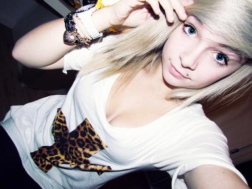 site models blonde