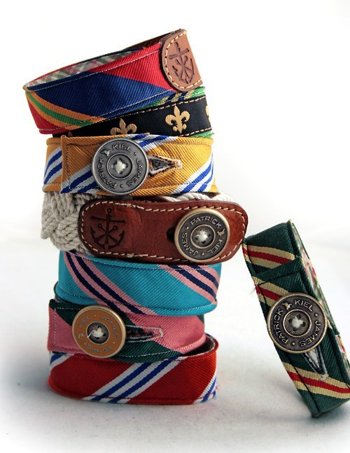 Creative Ideas / Bracelets from old ties.
