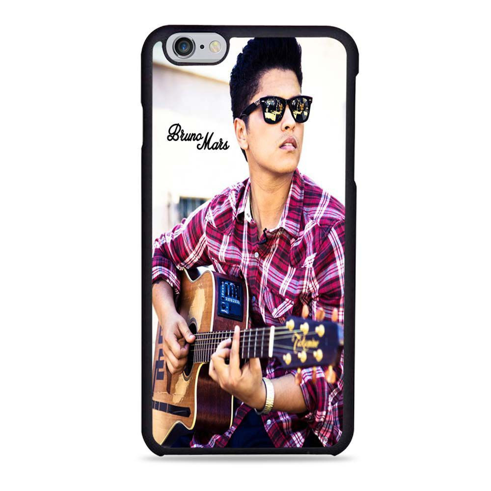 Play Guitar Iphone Wallpaper: Bruno Mars Cool Playing Guitar Actress Band For IPhone