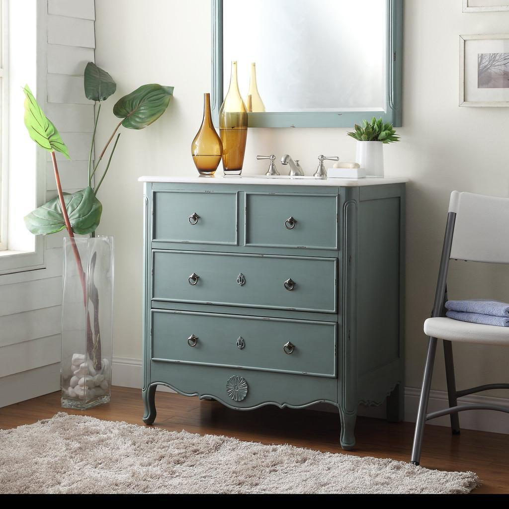 Old fashioned bathroom cabinets - Adelina Vintage Vanities For Bathroom With Green Color Ideas Chic And Adorable Bathroom Furniture With Interesting And Amusing Bathroom Design Cute And Chic