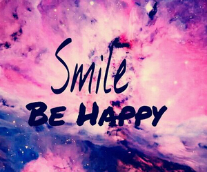 smile be happy