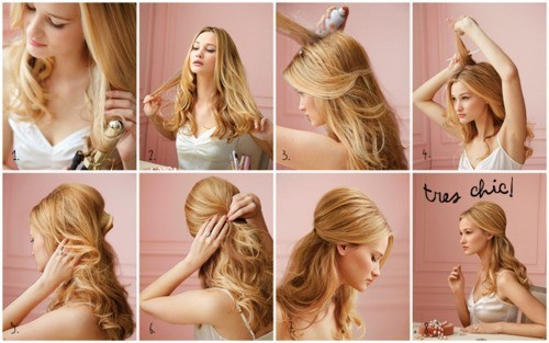 A Lady39;s Imagination: Easy DIY Hairstyles