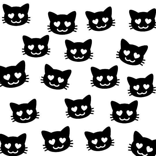 Image about black and white in emoji by amna on We Heart It