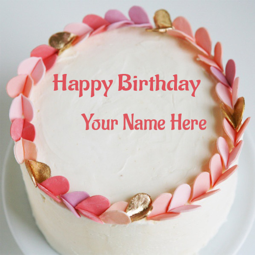 Write Your Name On Birthday Cake Wishes Pictures Generate