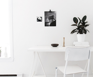 my scandinavian home: Crisp white, greys and floaty linen in a bloggers home