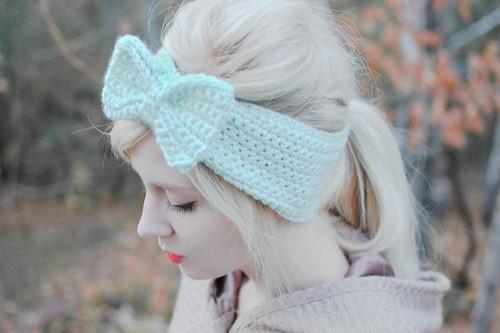 boho hair bow, bohemian bombshell, boho chic
