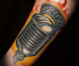 megan massacre tattoo mic