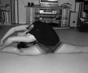 gym grs flexible girl