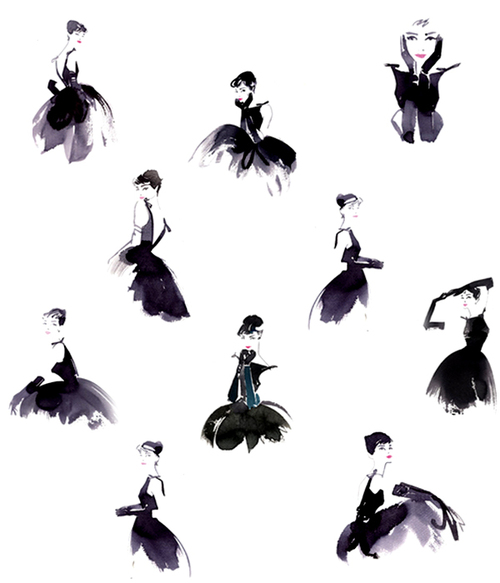 Audrey-hepburn-the-little-black-dress-illustration_large