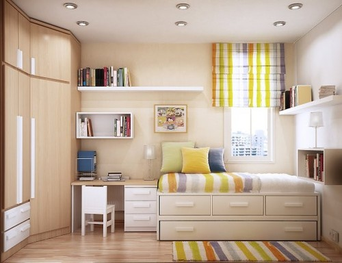Space Saving Ideas for Small Kids Rooms Layout - Modern Homes ...